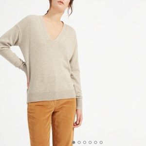 Everlane Oversized Cashmere Sweater